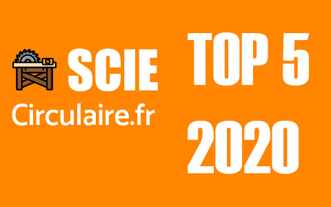 scie circulaire top5 2020